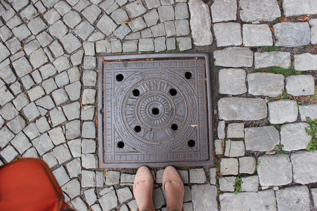 The Pavement of Weimar, world famous cultural center and former home of great thinkers and artists.