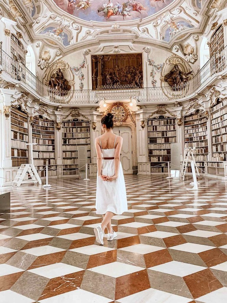 Admont Abbey: Light, Gold and Wisdom. Inside of the largest monastic library worldwide